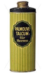 Palmolive  Talcum-Puder fuer Herren  1929