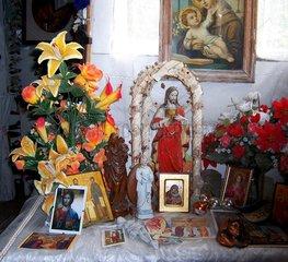 Heiligenbilder Friedenskirche Muenchen