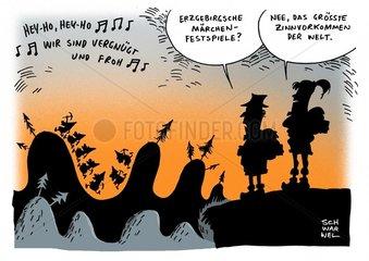 Zinnvorkommen Deutschland