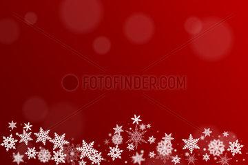 Hintergrund fuer Weihnachtskarte