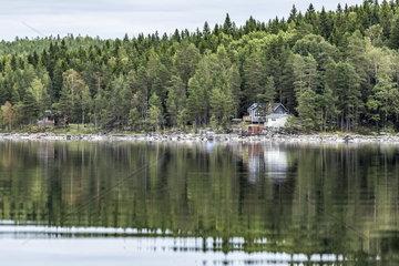 Traumhaft gelegen  ein Haus am See im schwedischen Vaermland