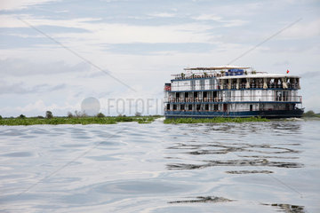 Jayavarman Schiff auf dem Tonle Sap