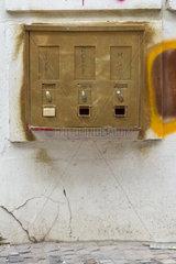 alter Kaugummiautomat