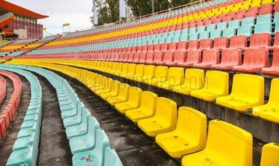 Sitzplaetze im Stadion