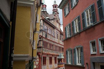 Tuebingen  Deutschland  Historische Gebaeude in der Altstadt