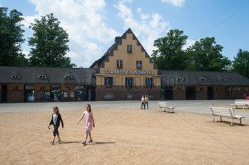 Berlin  Deutschland  Strandbad Wannsee