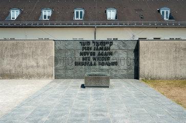 Dachau  Deutschland  KZ-Gedenkstaette Dachau