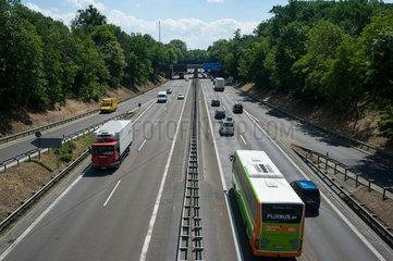 Berlin  Deutschland  Bundesautobahn A115