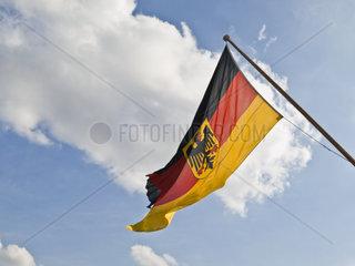 Dienstflagge der deutschen Seestreitkraefte  Deutschland