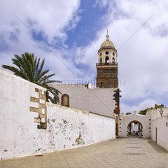 Kirche Nuestra Señora de Guadalupe  Teguise  Lanzarote  Spanien.