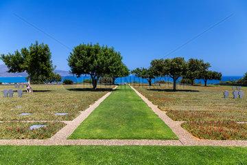 Deutscher Soldatenfriedhof  Maleme  Kreta