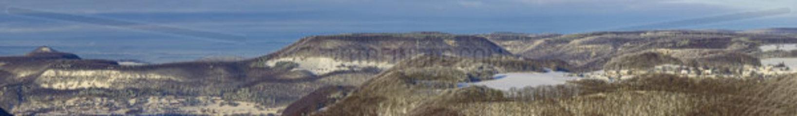 Panoramablick Schwaebische Alb