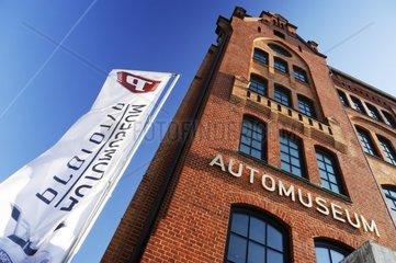 Automuseum Prototyp an der Shanghaiallee in der Hafencity von Hamburg  Deutschland  Europa