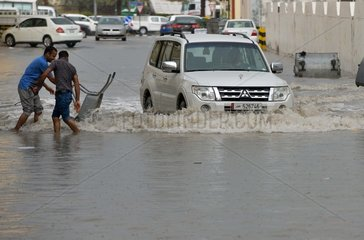QATAR-DOHA-FLOOD