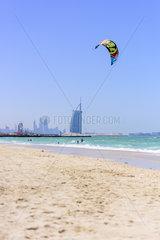 Kite Surfing in Dubai  United Arab Emirates