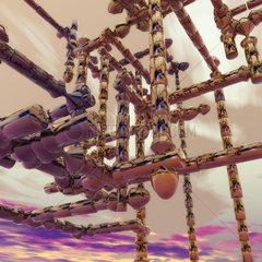 Dreidimensionale fraktale Struktur