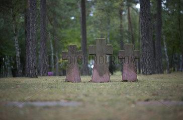 Waldfriedhof in Halbe