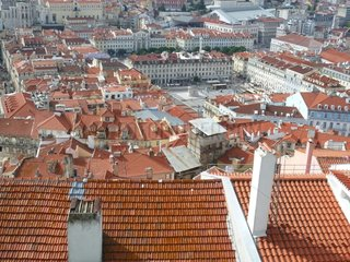 Portugal Lissabon Stadtzentrum Rossio