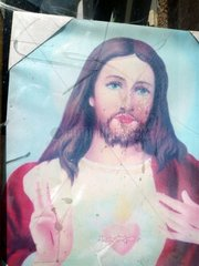 Portugal Lissabon Heiligenbild Jesus