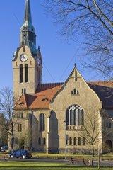Kirche  Christuskirche Dresden-Klotzsche  Deutschland