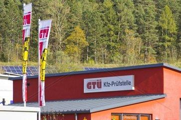 Eine Kfz-Pruefstelle von GTUe