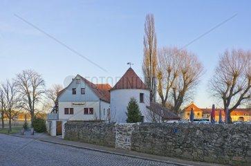 Die Gaststaette Baerenhaeusl in Moritzburg bei Dresden  Deutschland