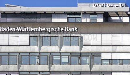 Gebaeude der Baden-Wuerttembergischen Bank  Teil der Baden-Wuerttembergischen Landesbank