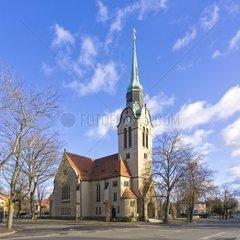 Church  Christuskirche Church  Klotzsche  Dresden  Germany