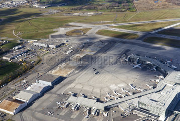 Flughafen in Montreal in Kanada  Ende Oktober 2010