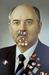 Michail Sergejewitsch Gorbatschow mit Leninorden