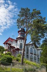 restaurierte alte Villa in Usedom