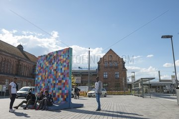 Giessener Graffiti Berliner Mauer