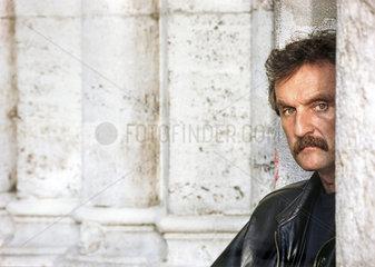 Christoph Ransmayr  oesterreichischer Schriftsteller  Portraet 1995