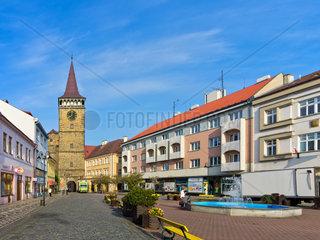 Das Valdicer Tor zu Jitschin  Tschechische Republik