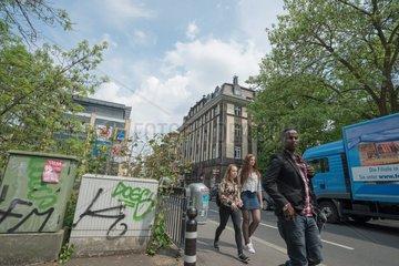 Wohn- und Geschaeftsstrasse