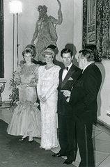 Prinz Charles  Prinzessin Diana in Muenchen  1987