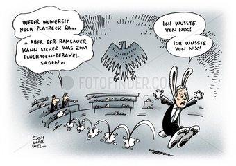 Wowereit und Platzeck bleiben BER-Sitzung fern
