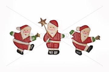 drei Weihnachsmaenner