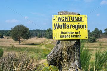 Wolfswarnung