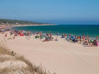 Strand von Bolonia  Tarifa  Spanien  Costa de la Luz
