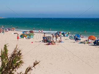 Strand von Bolonia  Tarifa  Spanien