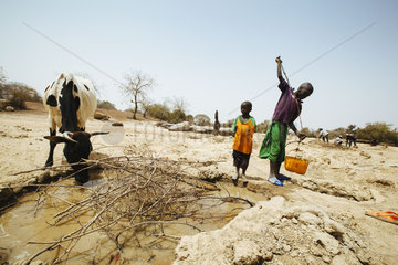 Wassernot auf dem Land