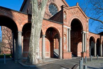 Berlin  Deutschland  Schinkel-Kirche St. Johannis in Berlin-Moabit