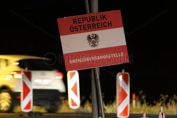 Oesterreichischer Grenzuebergang