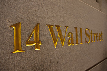 14 Wall Street  The Bankers Trust Building  Financial District  Manhattan  New York City  USA