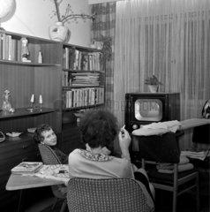 DDR - neuer Fernseher 1966