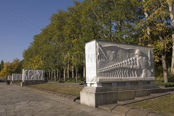 Treptower Park  Berlin  Deutschland  Europa