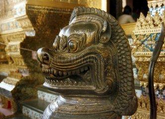 Tempelloewe Thailand Bangkok Wat Phra Keo