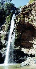 Thailand Norden Wasserfall Naturpark Waterfall