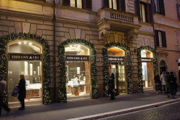 Tiffany Geschaeft in Rom